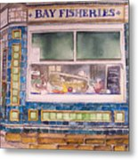 The Fish And Chip Shop Metal Print
