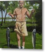 The Fisherman Metal Print