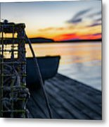 The Fisherman's Life Metal Print