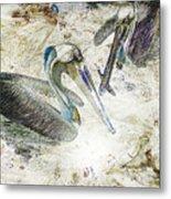 The Fishing Hole Metal Print