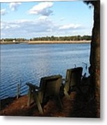 The Fishing Spot Metal Print