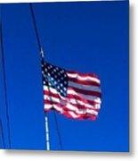 The Flag Of Usa  Metal Print