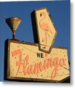 The Flamingo Metal Print by Troy Montemayor
