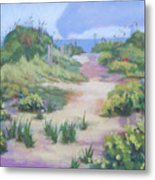 The Flip-flop Path To Paradise Metal Print