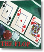 The Flop Metal Print