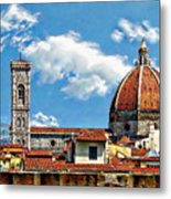 The Florence Cathedral Metal Print