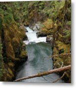The Flow Of It All  Metal Print