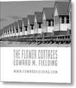 The Flower Cottages By Edward M. Fielding Metal Print