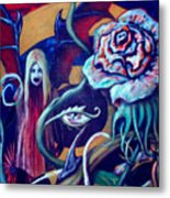 The Flower That Is Life Metal Print