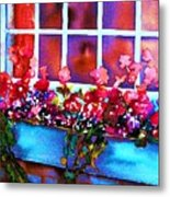 The Flowerbox Metal Print