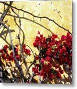The Flowers Of Carmel 2 Metal Print