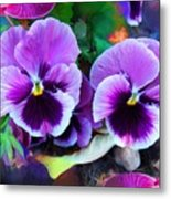 The Flowers Of Eleanor  Metal Print
