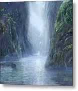 The Flowing Of Time Metal Print