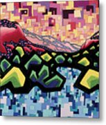 The Fluctuation Of Matter And Spirit Metal Print