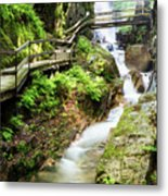 The Flume Gorge Lincoln New Hampshire Metal Print