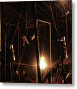 The Flying Trapeze 1980s Circus Metal Print