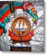 The Fo'c'sle Village Pub Metal Print
