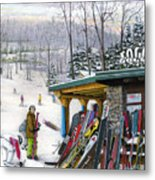 The Foggy Goggle At Seven Springs Metal Print