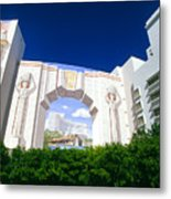 The Fontainebleau Hotel Metal Print