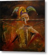 The Fools Solace Journey Metal Print