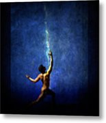 The Force Metal Print by Michael Taggart