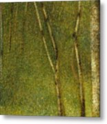 The Forest At Pontaubert, 1881 Metal Print