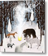 The Forest Guardians Metal Print
