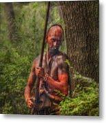 The Forest Has Eyes Bushy Run Metal Print