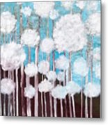 The Forest Of Fluff  Metal Print