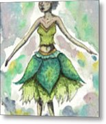 The Forest Sprite Metal Print