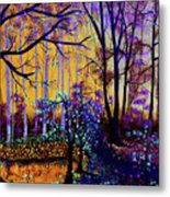 The Forest - Yellow Pond  Metal Print