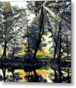 The Forests Of Avalon Metal Print