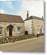The Forge And Blacksmith's Cottage Mylor Bridge Metal Print