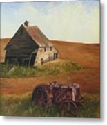 The Forgotten Farm Metal Print