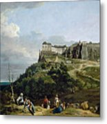 The Fortress Of Konigstein Metal Print