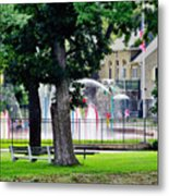 The Fountain For Youth Metal Print