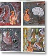 The Four Metal Print