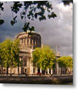 The Four Courts In Reconstruction Metal Print
