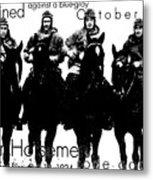 The Four Horsemen Of Notre Dame Metal Print