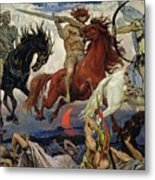 The Four Horsemen Of The Apocalypse Metal Print
