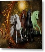 The Four Horses Of The Apocalypse Metal Print
