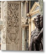The Four Tetrarchs In Venice Metal Print