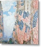 The Fourth Of July Metal Print by Childe Hassam