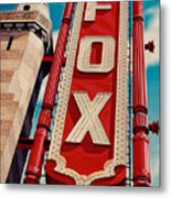 The Fox Theater Metal Print