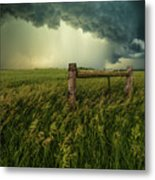 The Frayed Ends Of Sanity  Metal Print