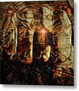 The Freedom Is In The Mind Metal Print