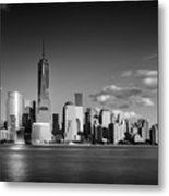 The Freedom Tower And The Lower Manhattan Skyline Metal Print