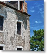 The French Castle 6947 Metal Print