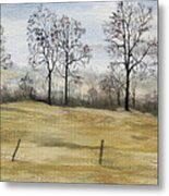 The French Countryside Metal Print
