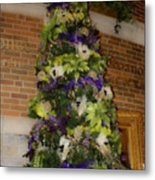 The French Thistle Tree Fashions For Evergreens Hotel Roanoke 2009 Metal Print